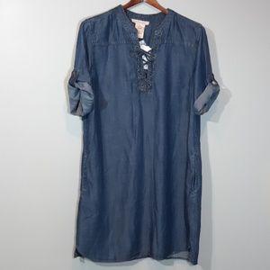 Philosophy | Chambray Tunic Dress
